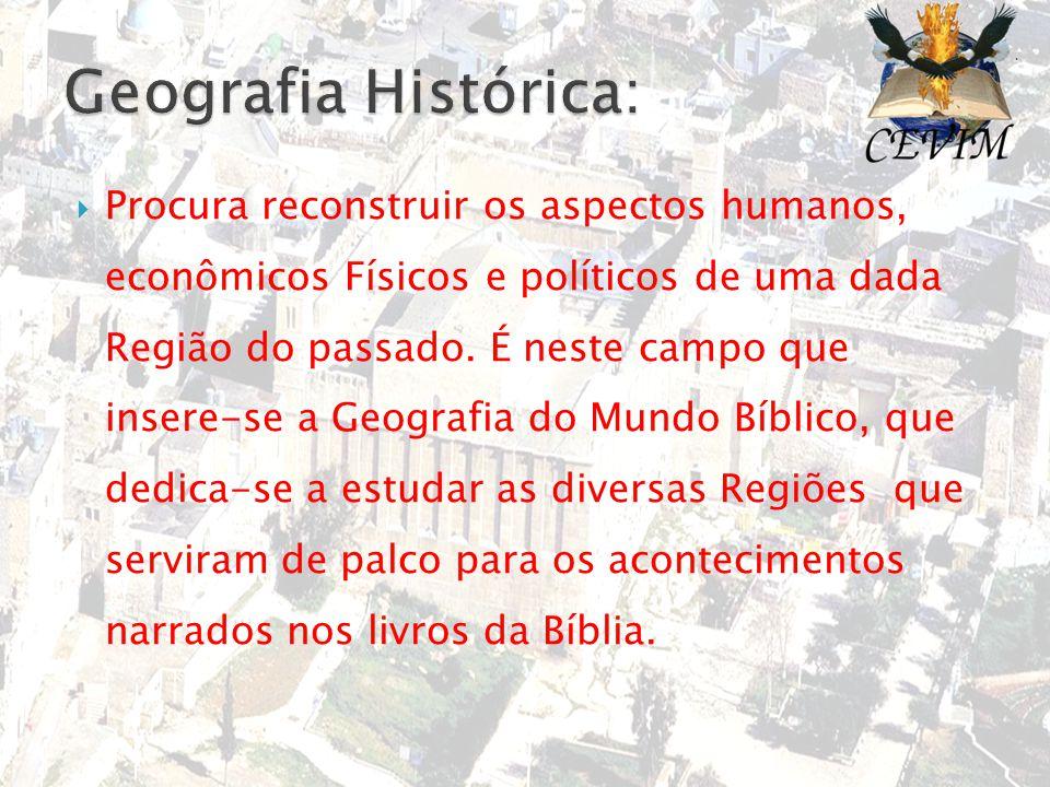 Geografia Histórica: