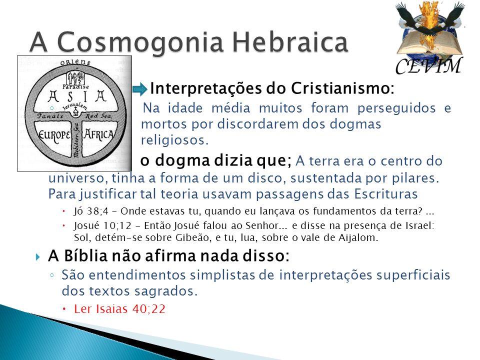 A Cosmogonia Hebraica Interpretações do Cristianismo: