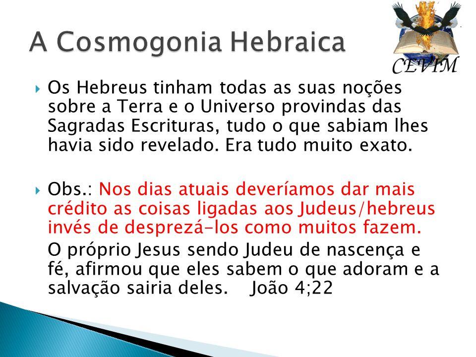 A Cosmogonia Hebraica