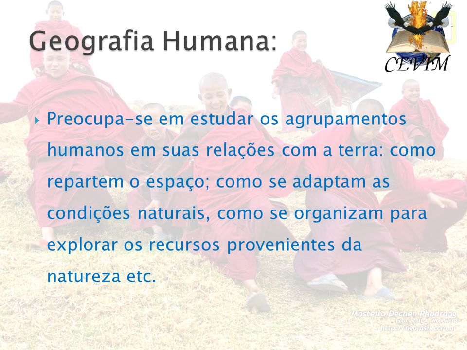 Geografia Humana: