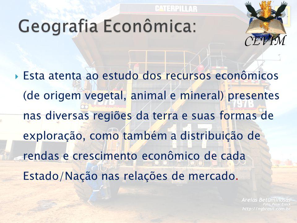Geografia Econômica: