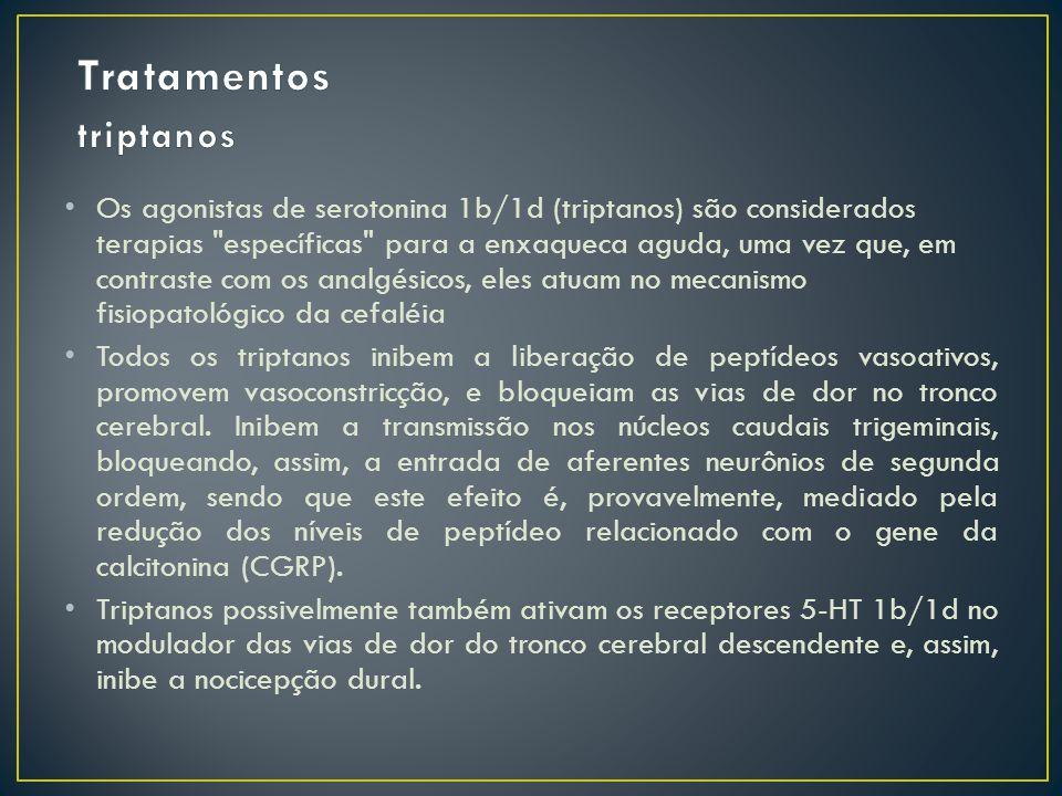 Tratamentos triptanos