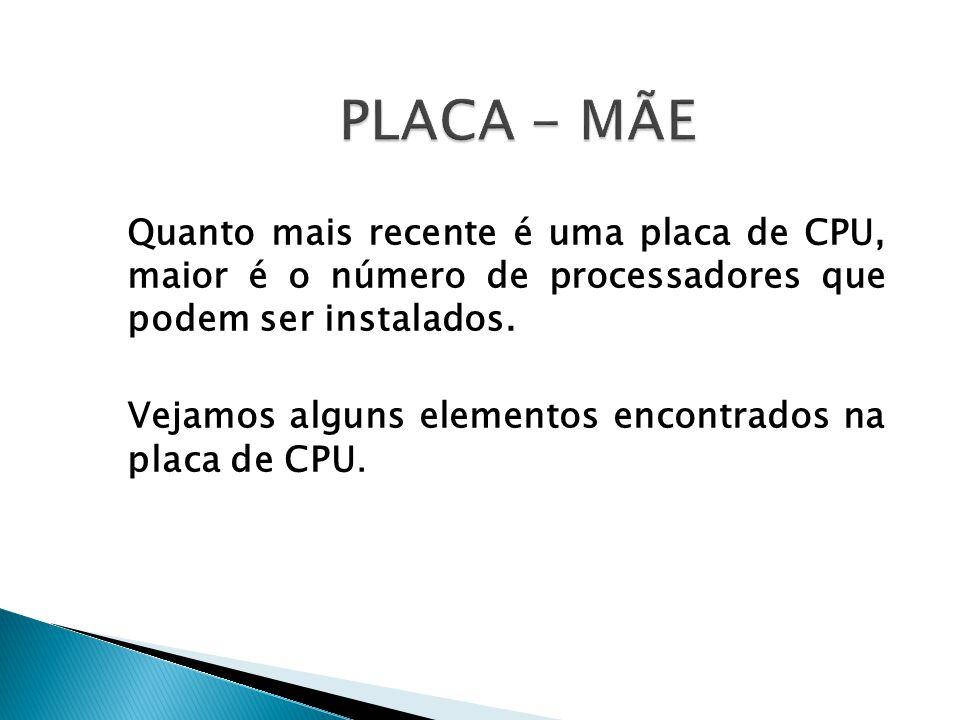 PLACA - MÃE