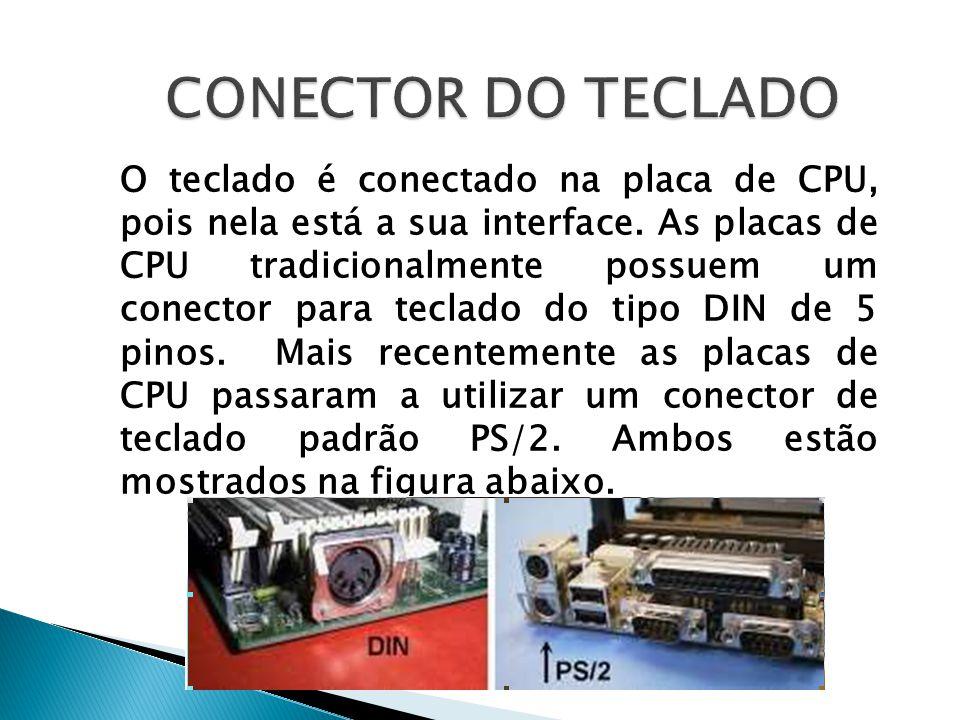 CONECTOR DO TECLADO