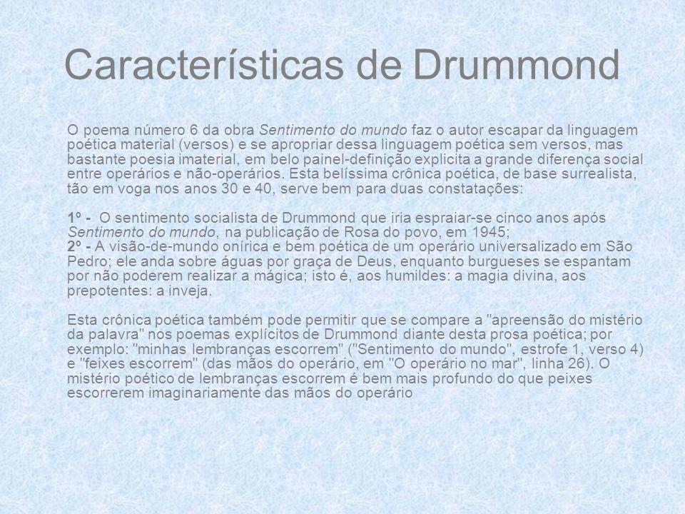 Características de Drummond