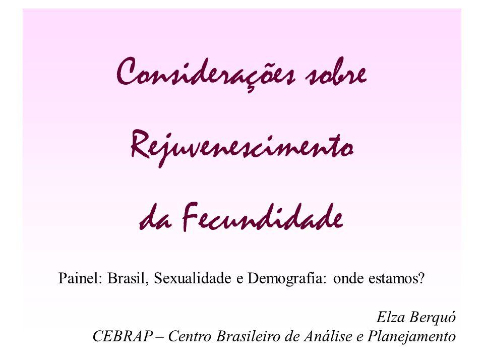 Painel: Brasil, Sexualidade e Demografia: onde estamos
