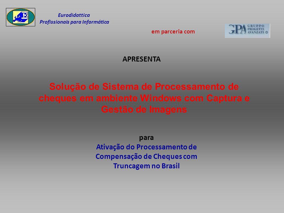 Eurodidattica Profissionais para Informática. em parceria com. APRESENTA.