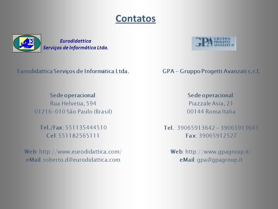 Contatos Eurodidattica Serviços de Informática Ltda.