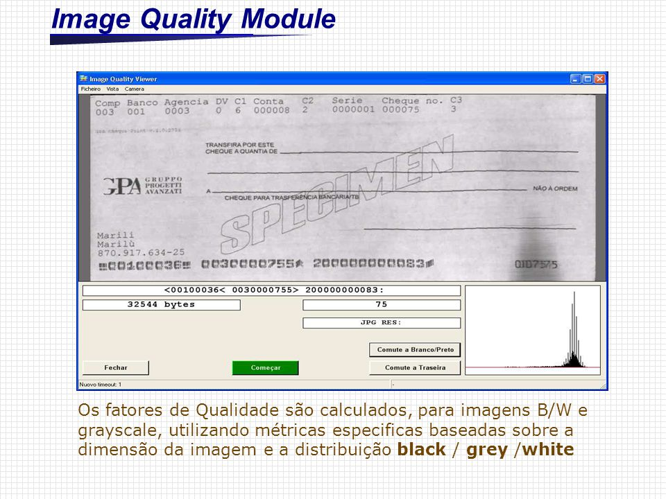 Image Quality Module