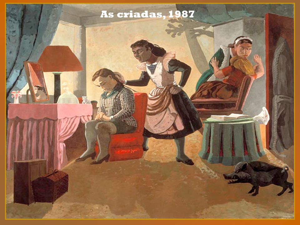 As criadas, 1987