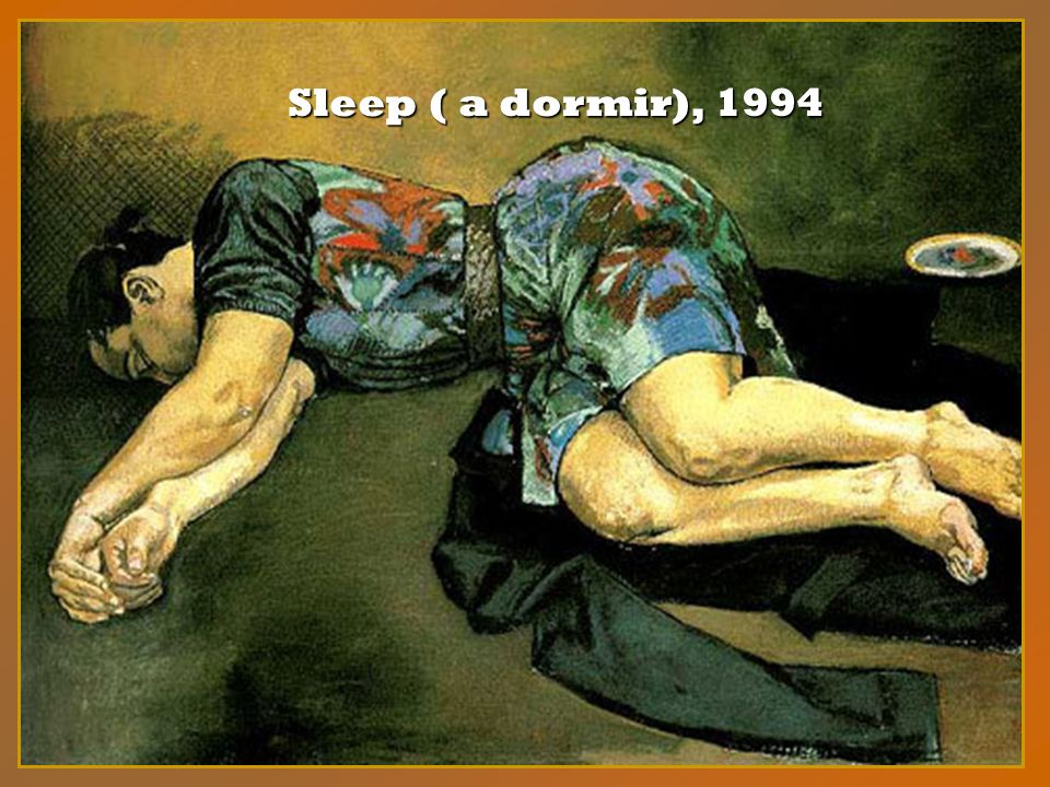 Sleep ( a dormir), 1994