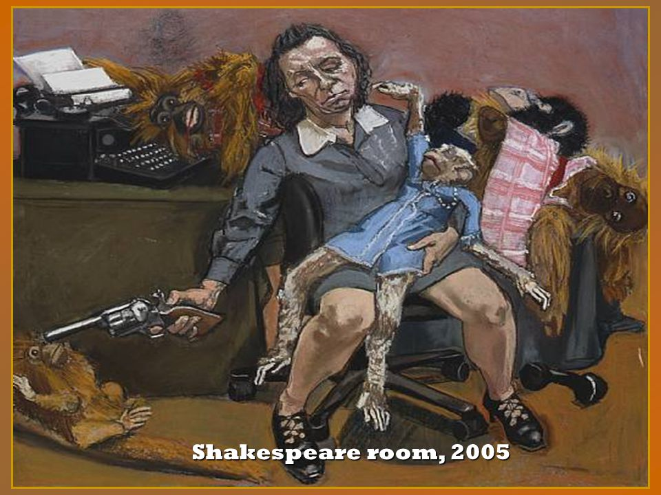 Shakespeare room, 2005