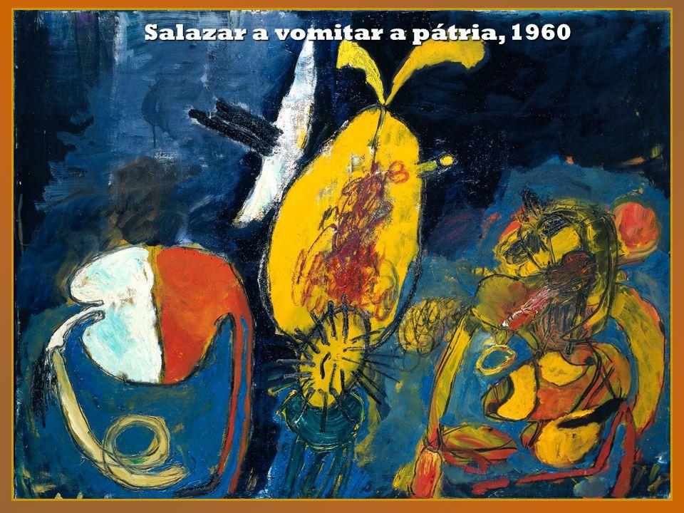 Salazar a vomitar a pátria, 1960