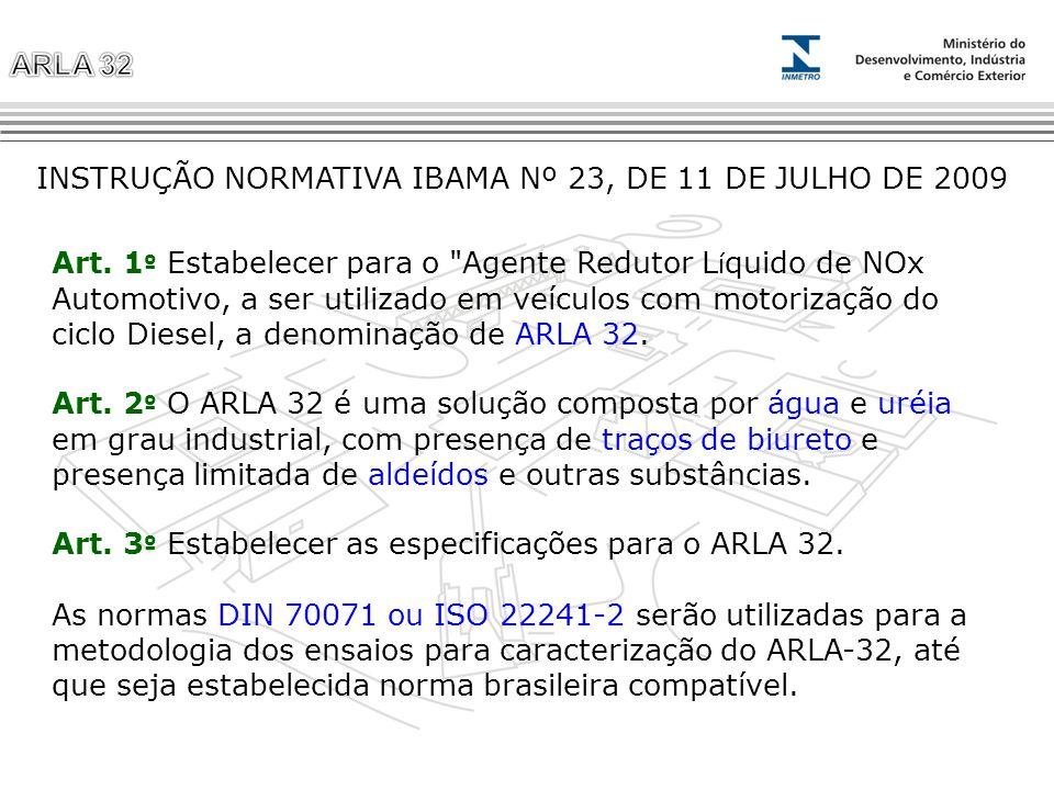 INSTRUÇÃO NORMATIVA IBAMA Nº 23, DE 11 DE JULHO DE 2009