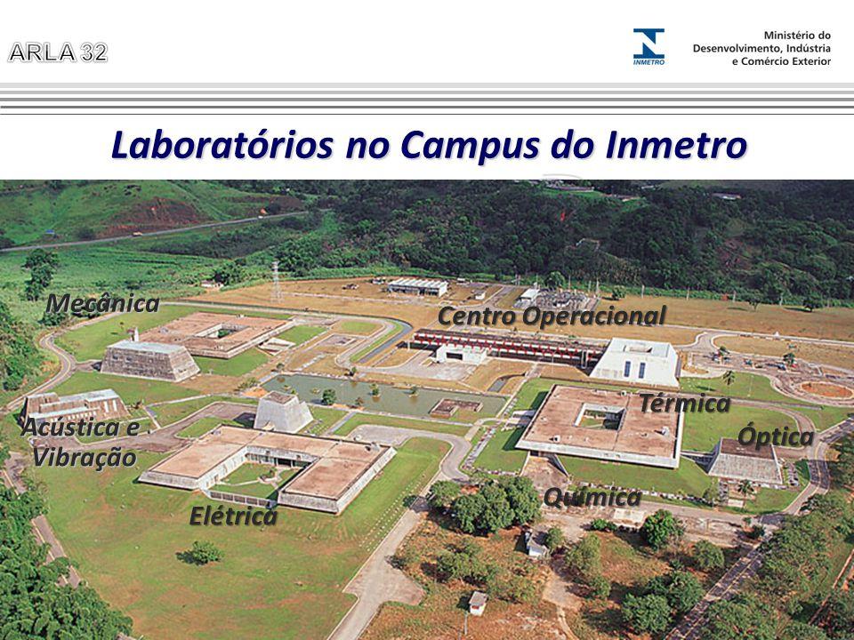 Laboratórios no Campus do Inmetro