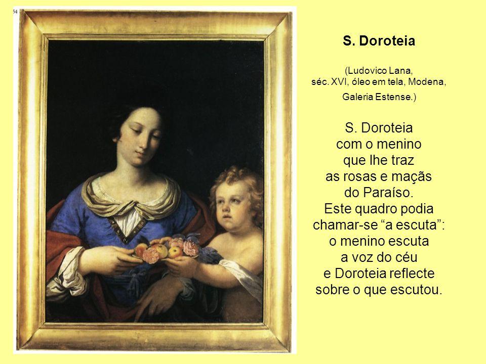 séc. XVI, óleo em tela, Modena,