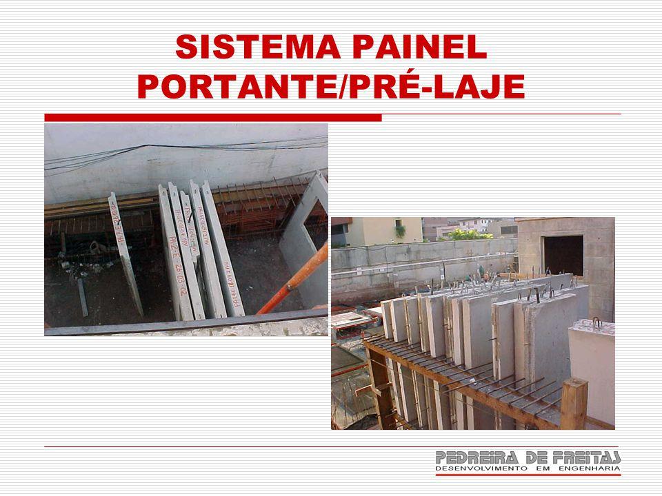 SISTEMA PAINEL PORTANTE/PRÉ-LAJE