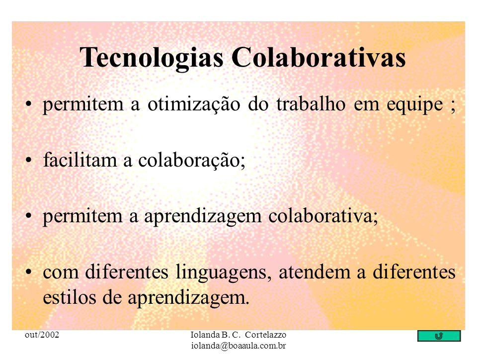 Tecnologias Colaborativas