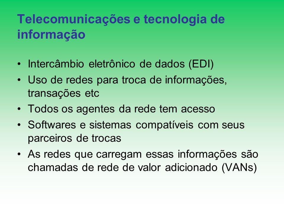 Telecomunicações e tecnologia de informação