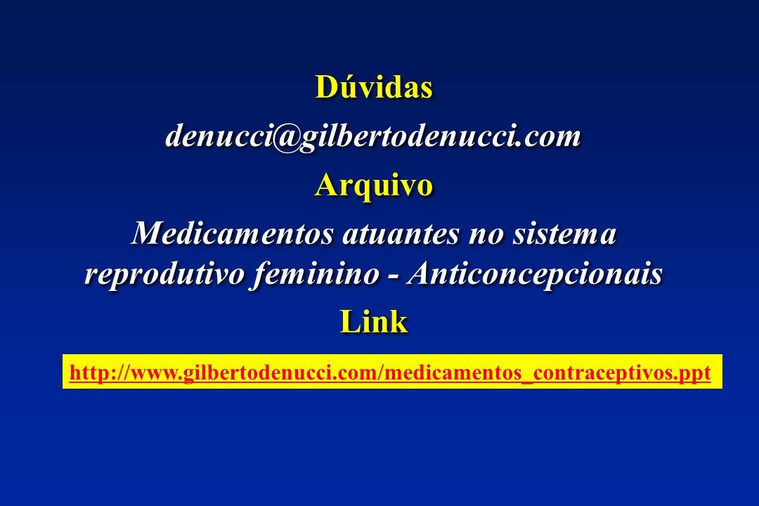 Dúvidas denucci@gilbertodenucci.com Arquivo