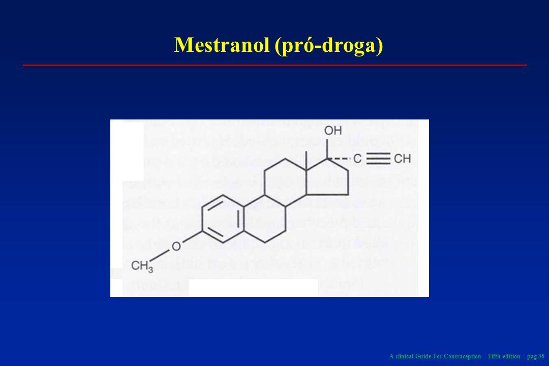 Mestranol (pró-droga)