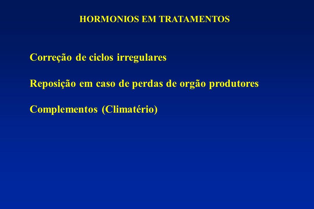HORMONIOS EM TRATAMENTOS