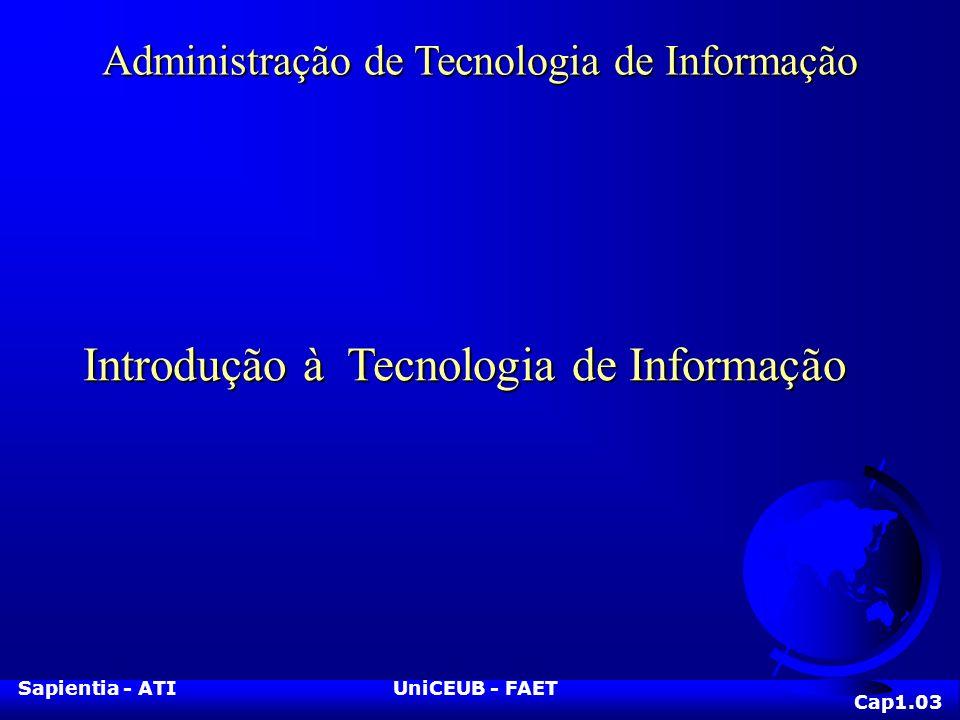 Introdução à Tecnologia de Informação
