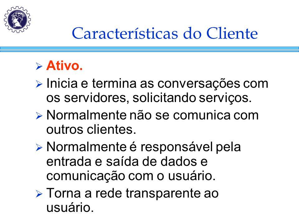 Características do Cliente