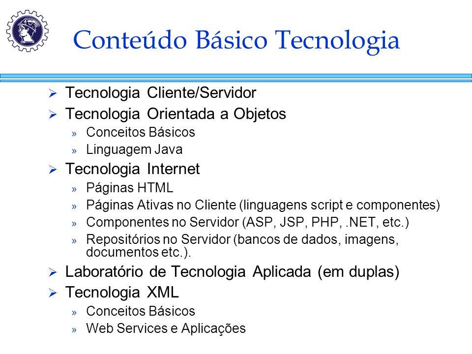 Conteúdo Básico Tecnologia