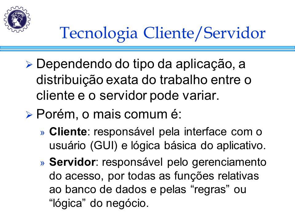 Tecnologia Cliente/Servidor