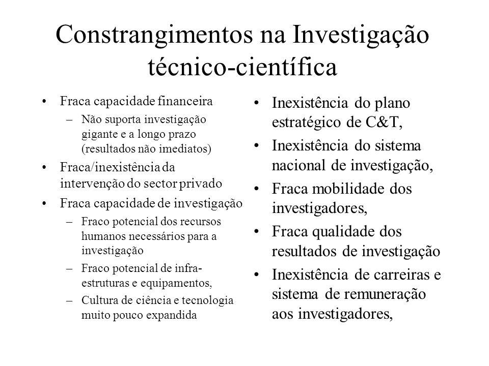 Constrangimentos na Investigação técnico-científica