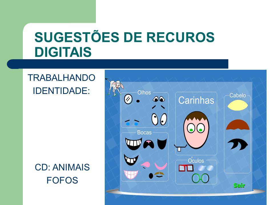 SUGESTÕES DE RECUROS DIGITAIS