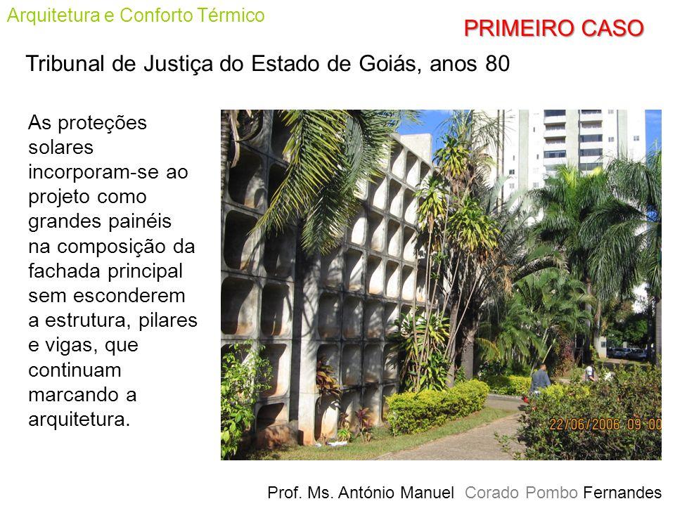 Tribunal de Justiça do Estado de Goiás, anos 80