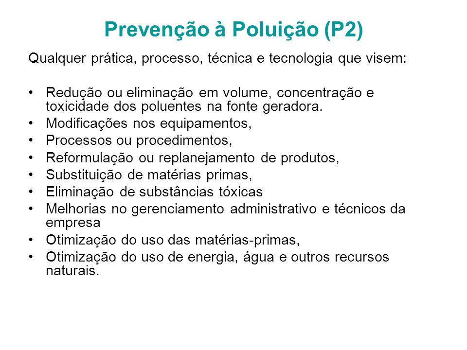 Prevenção à Poluição (P2)