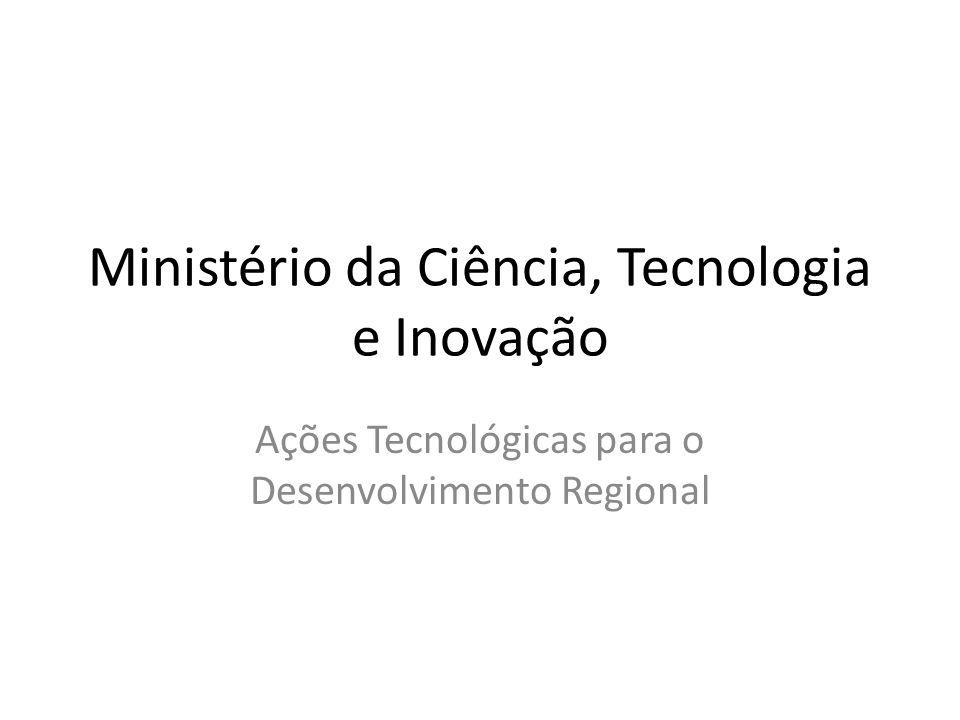 Ministério da Ciência, Tecnologia e Inovação