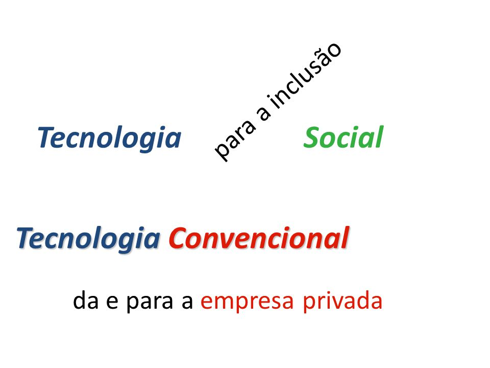 Tecnologia Convencional