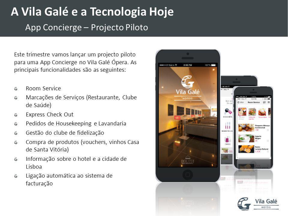 A Vila Galé e a Tecnologia Hoje