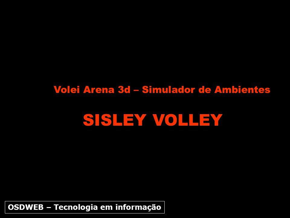SISLEY VOLLEY Volei Arena 3d – Simulador de Ambientes