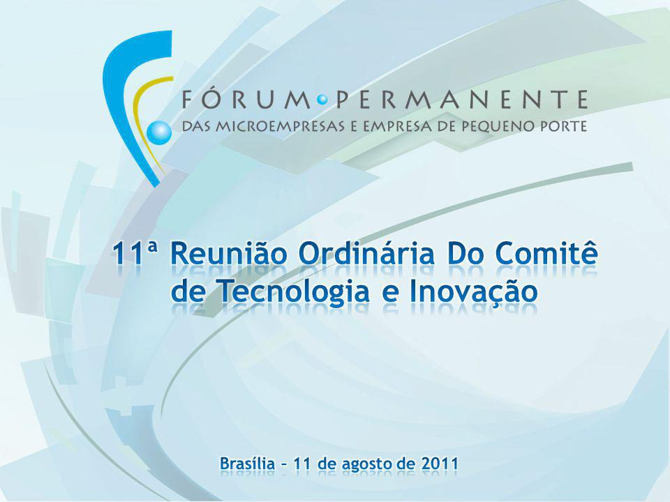 11ª Reunião Ordinária Do Comitê de Tecnologia e Inovação