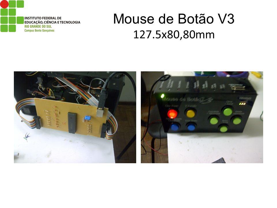 Mouse de Botão V3 127.5x80,80mm