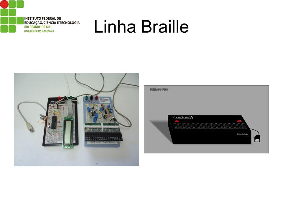 Linha Braille