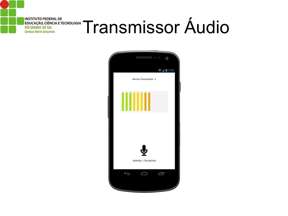 Transmissor Áudio
