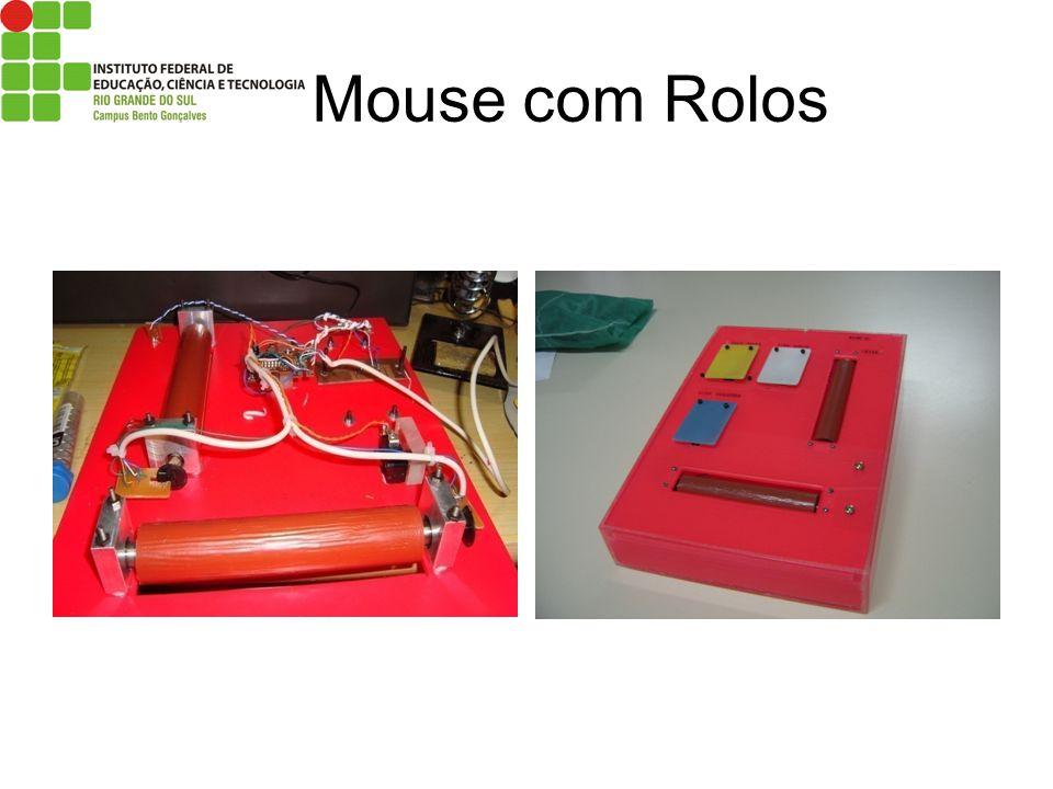Mouse com Rolos