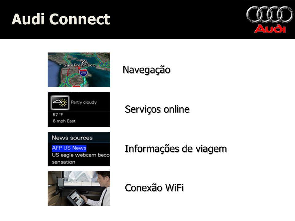 Audi Connect Navegação Serviços online Informações de viagem