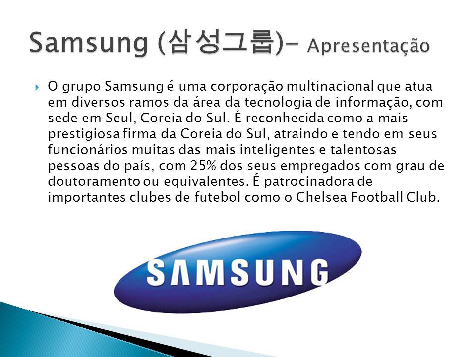 Samsung (삼성그룹)- Apresentação
