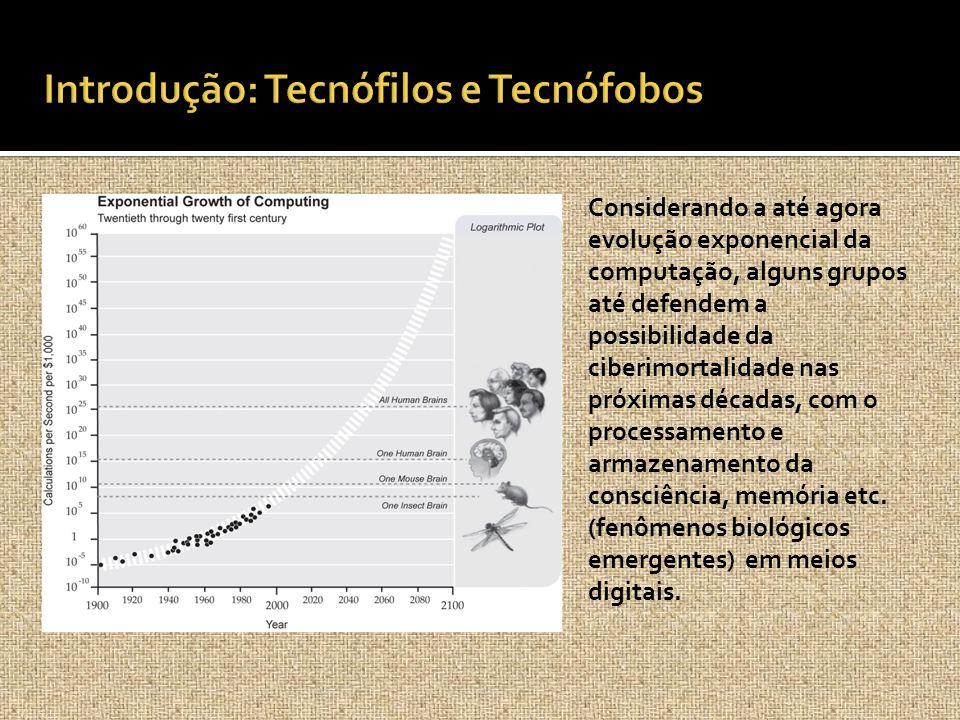 Introdução: Tecnófilos e Tecnófobos