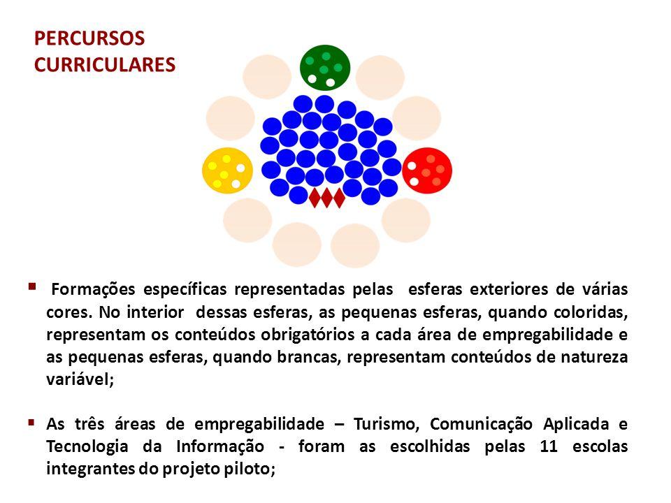 PERCURSOS CURRICULARES