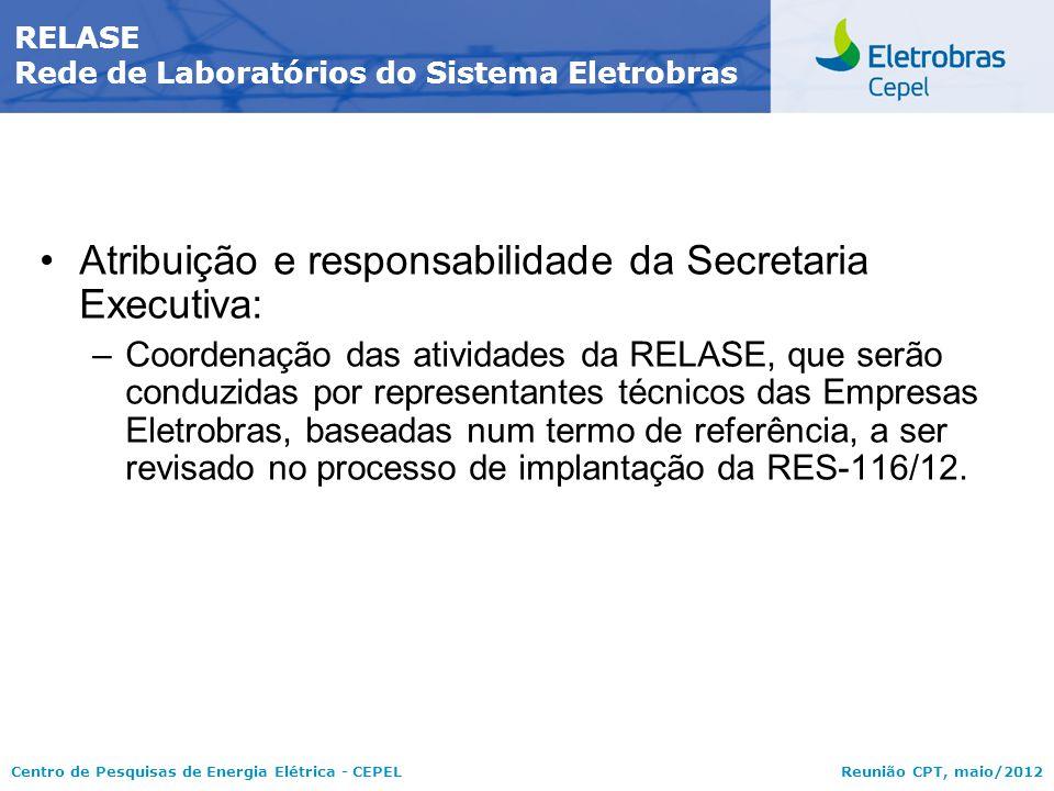 RELASE Rede de Laboratórios do Sistema Eletrobras