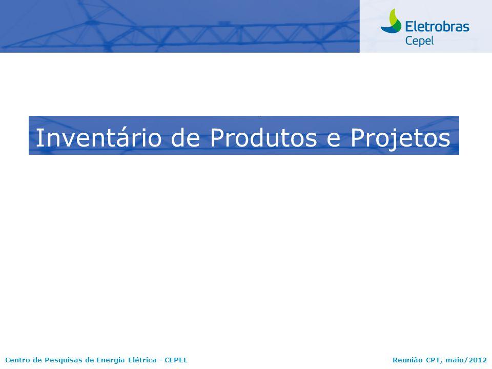 Inventário de Produtos e Projetos