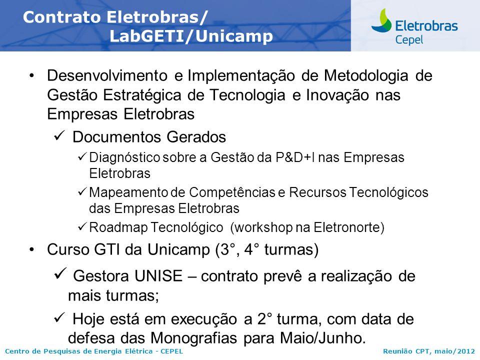 Contrato Eletrobras/ LabGETI/Unicamp